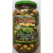 Green Olives with Thyme